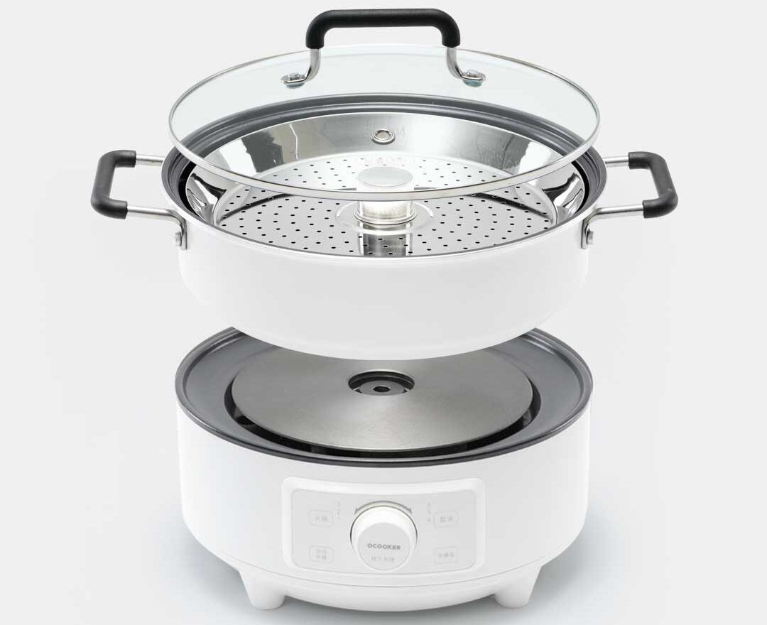 Пароварка Xiaomi Qcooker Electric Hot Pot